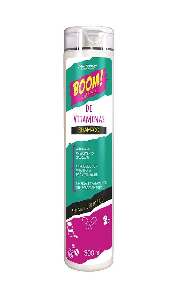 Shampoo boom de vitaminas