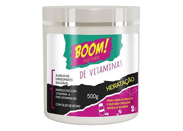 Hidratação boom de vitaminas