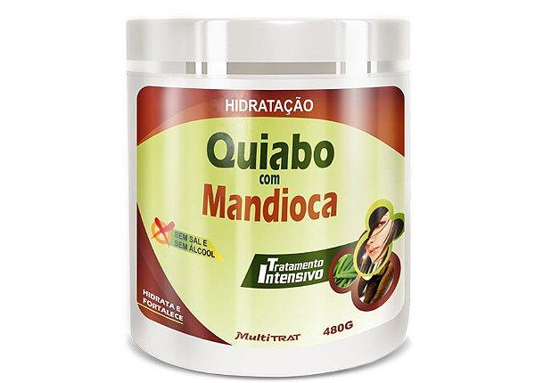 Hidratação Quiabo com Mandioca