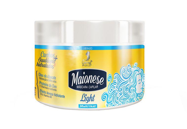 Máscara de Hidratação Light Maionese Capilar
