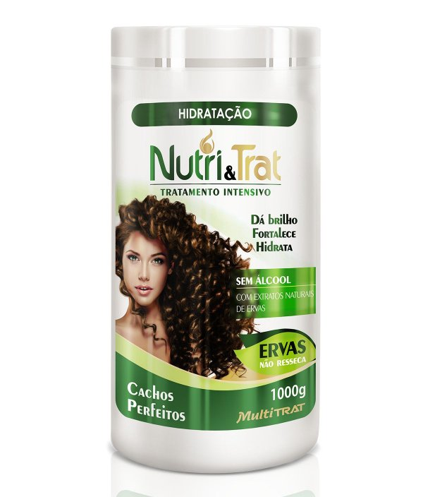 Hidratação 1 Kg Nutritrat Ervas