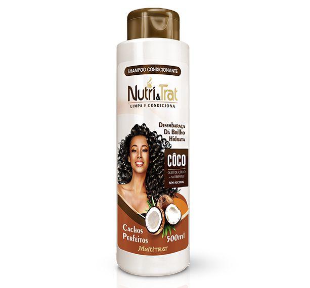 Shampoo concionante Nutritrat Coco 500 ml