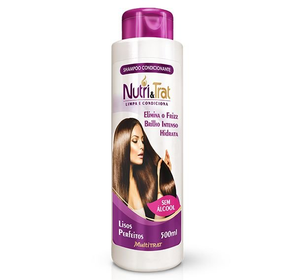 Shampoo Condicionante Nutritrat Lisos Perfeitos