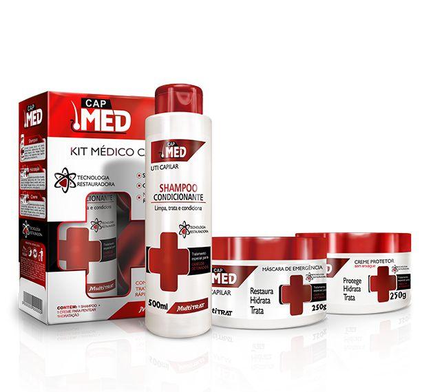 Linha Cap Med - Kit UTI Capilar