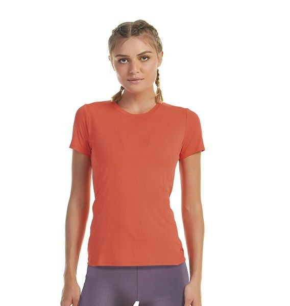 T-SHIRT AG SKIN FIT RECORTES TRAINING CORAL NORUEGA TAM M