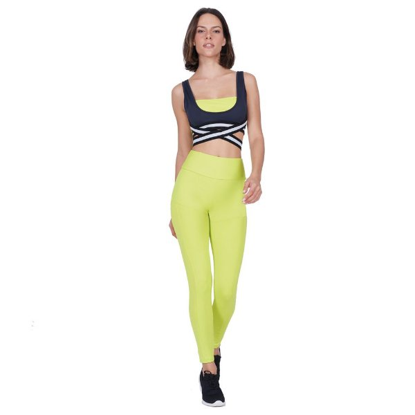 LEGGING AG LIGHT NEON REC AMAR/LEMON TAM P - ALTOGIRO
