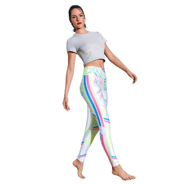LEGGING SUBLIME ESTAMPA LOCALIZADA TROPICAGE TAM P - ALTOGIRO