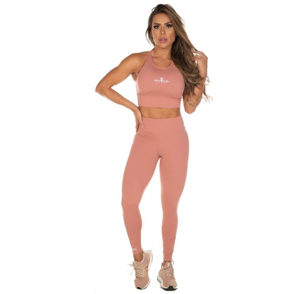 LEGGING SUPLEX ROSE TAM M - PHYSICAL