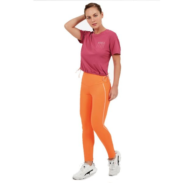 LEGGING UP CO2 FUSIONADO LARANJA NECTARINE TAM P - ALTOGIRO