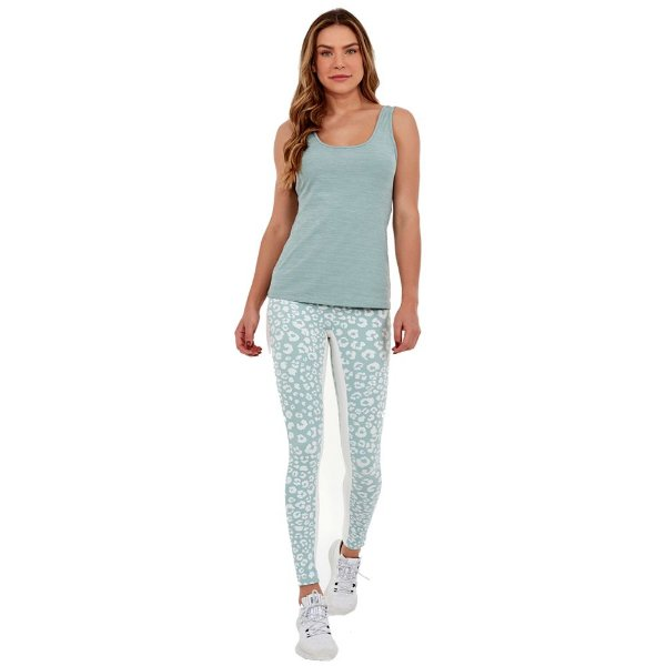 LEGGING ONCA BLACKOUT C/ RECORTE LATERAL VERDE CABBAGE - ALTOGIRO