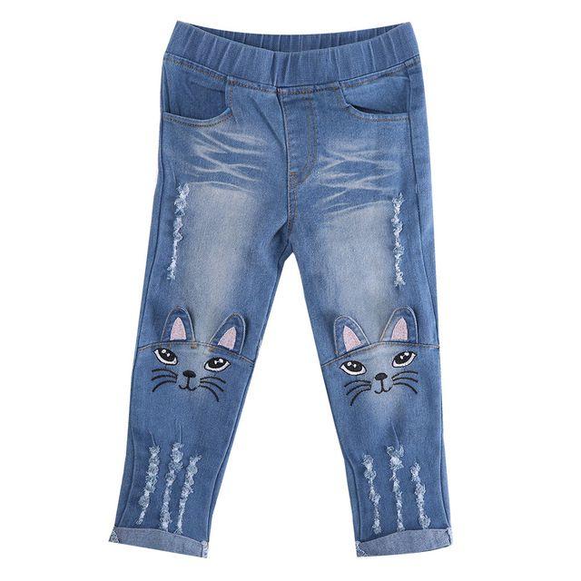 Calça Jeans Gatinho - Tamanho 4