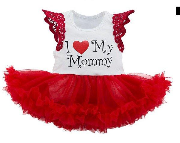 Vestido Body - Tamanho 12 meses
