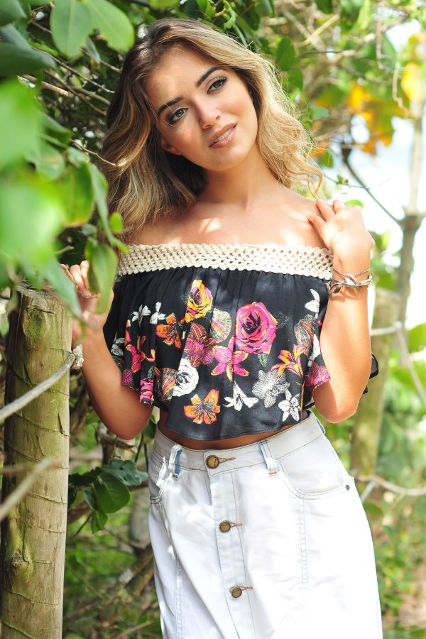 CROPPED INVERNO TROPICAL