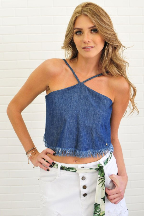 CROPPED JEANS FRANJINHA