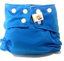 Fralda de Piscina Azul Recem Nascido- Belinha Baby Acompanha absorvente