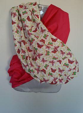 Duplo Pounch sling - Borboletas