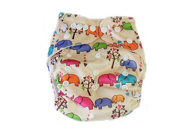 Fralda Elefantinhos em Pull - Ananbaby