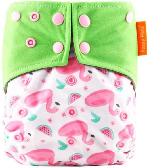 Fralda Flamingos em Pull - Happy Flute