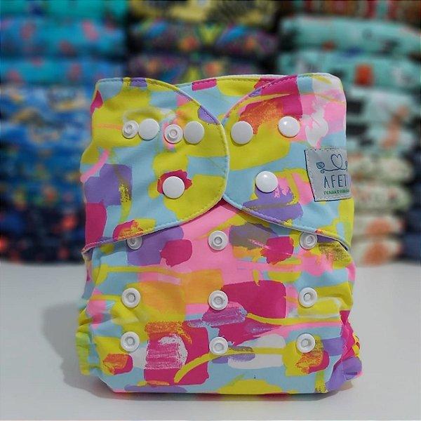 Colorida - Afeto - Acompanha absorvente de meltom 6 camadas