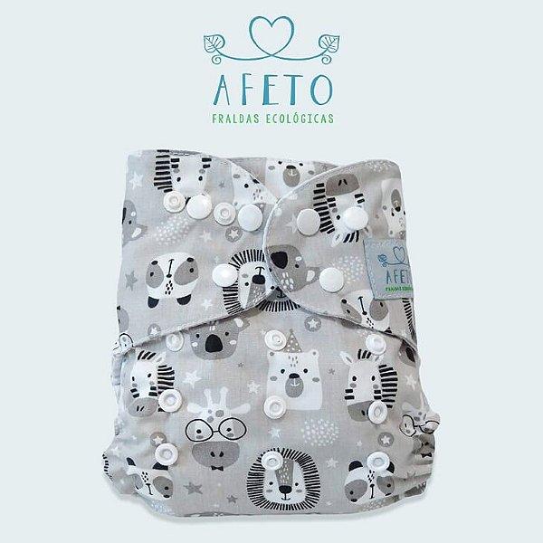 Safari baby - Afeto - Acompanha absorvente de meltom 6 camadas