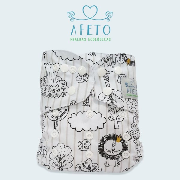 Leãozinho  - Afeto - Acompanha absorvente de meltom 6 camadas