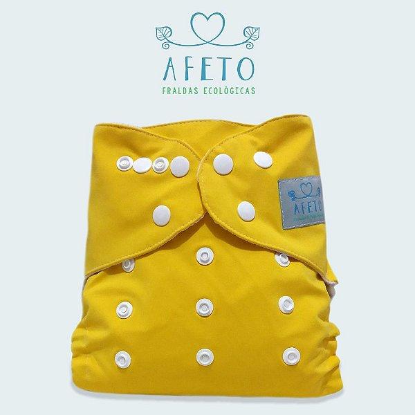 Amarela - Afeto - Acompanha absorvente de meltom 6 camadas
