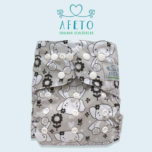 Elefantinhos - Afeto - Acompanha absorvente de meltom 6 camadas