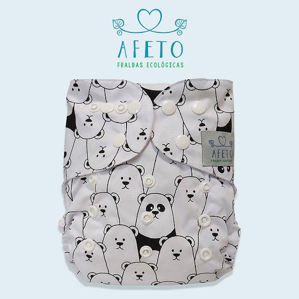 Ursinhos - Afeto - Acompanha absorvente de meltom 6 camadas
