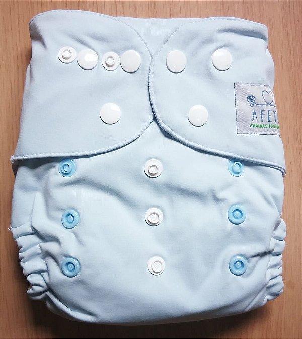 Azul clarinho- Afeto - Acompanha absorvente de meltom 6 camadas