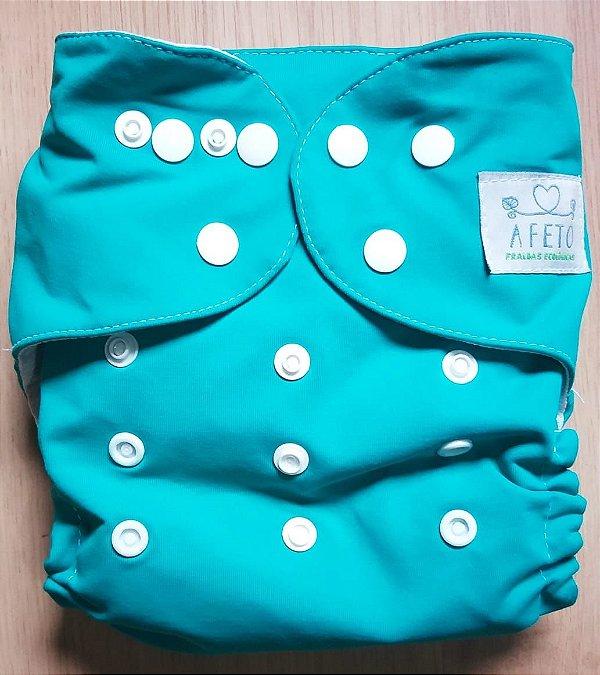 Verde Azulado - Afeto - Acompanha absorvente de meltom 6 camadas