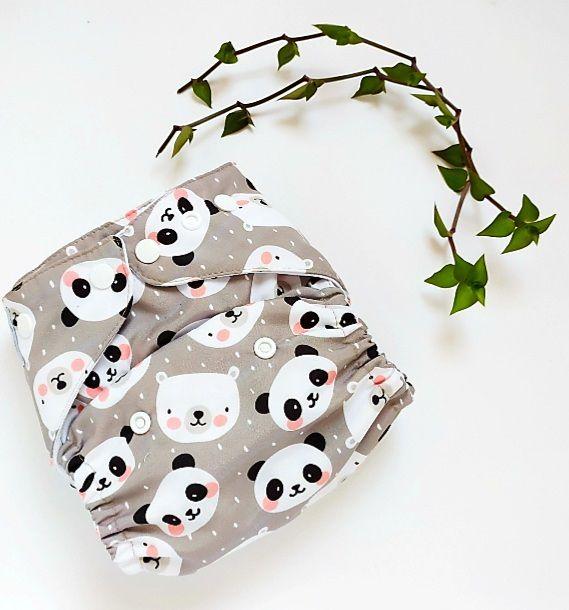 Pandas (pull) - Leli Eco - Acompanha Absorvente de Meltom