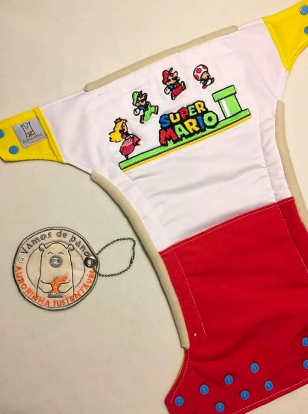 Super Mario - Aurorinha Sustentável