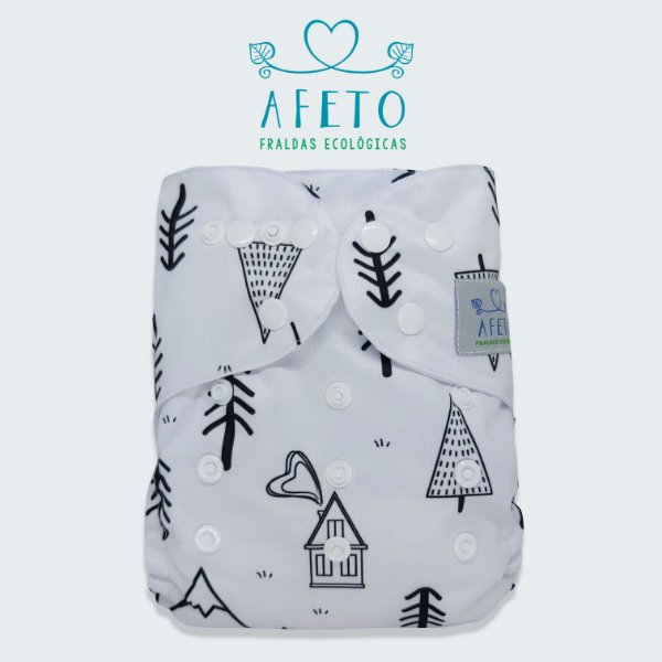 Montanha - Afeto - Pull - Acompanha absorvente de meltom 6 camadas.