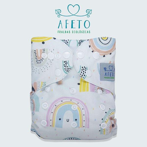 Arco Íris - Afeto - Pull - Acompanha absorvente de meltom 6 camadas.