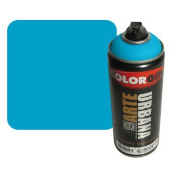 Colorgin Arte Urbana - 965  Azul Celeste- 400 ml