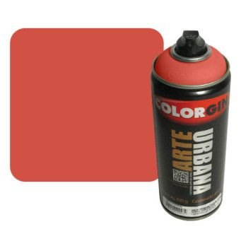 Colorgin Arte Urbana - 968  Laranja Marte - 400 ml