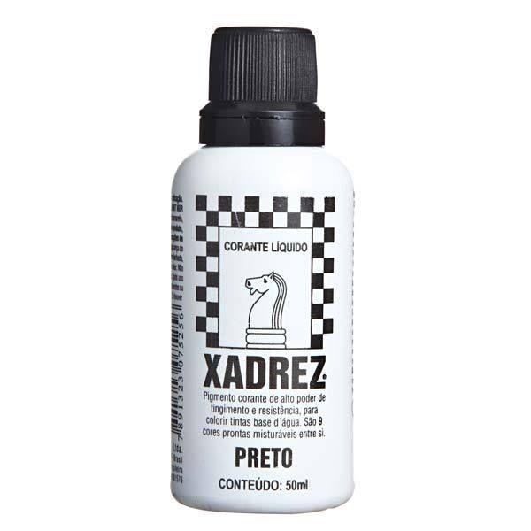 Corante Líquido Xadrez 50ml - PRETO