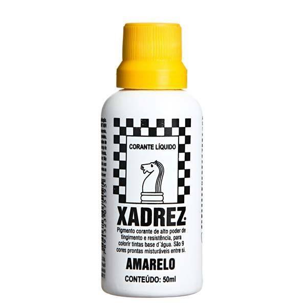 Corante Líquido Xadrez 50ml - AMARELO