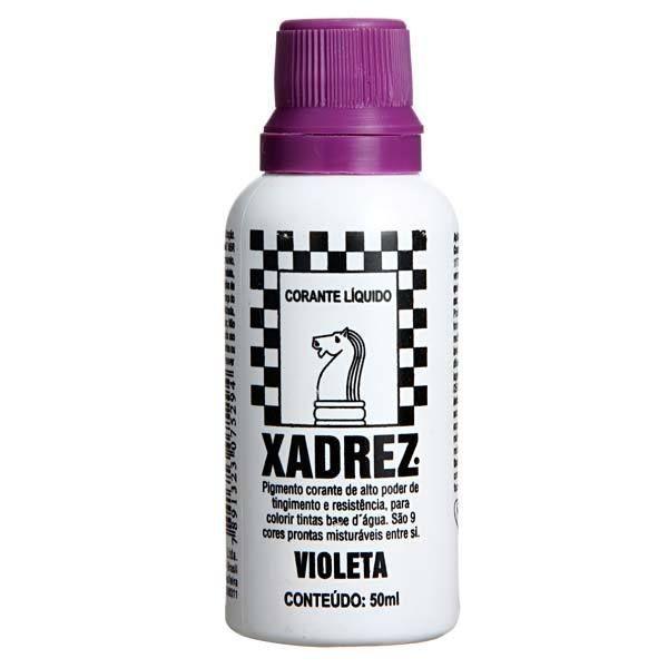 Corante Líquido Xadrez 50ml - VIOLETA