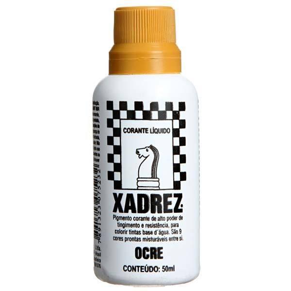 Corante Líquido Xadrez 50ml - OCRE