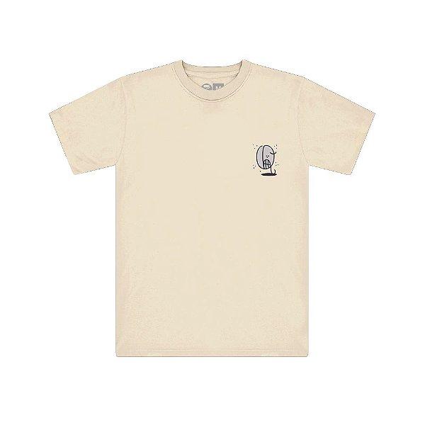 Camiseta Bege Bomber