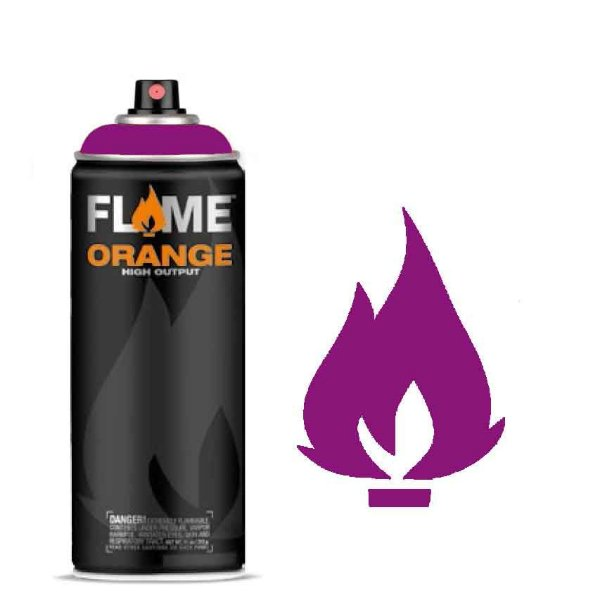 Spray Flame Orange - FO-404 Traffic Purple