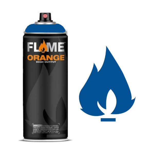 Spray Flame Orange - FO-512 Signal Blue