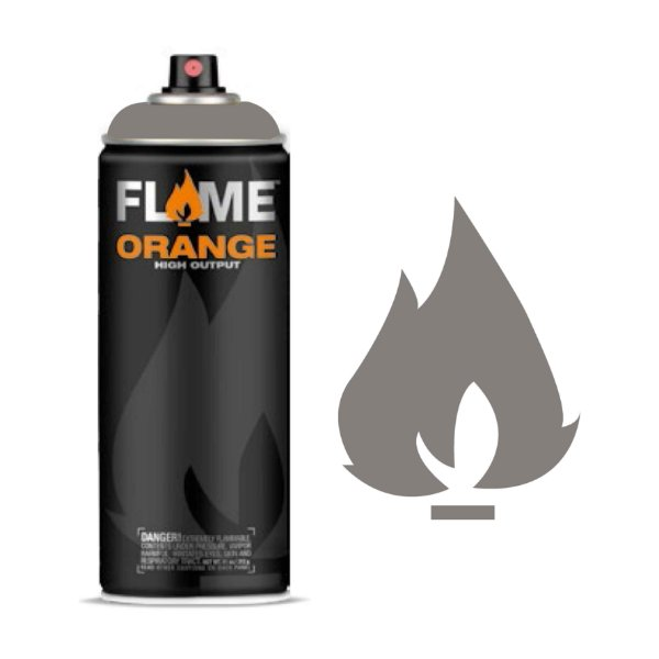 Spray Flame Orange - FO-840 Dark Grey Neutral