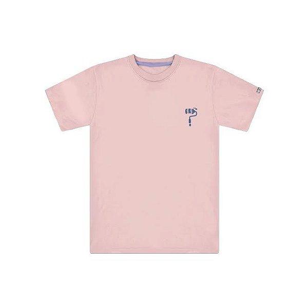 Camiseta Cor De Rosa