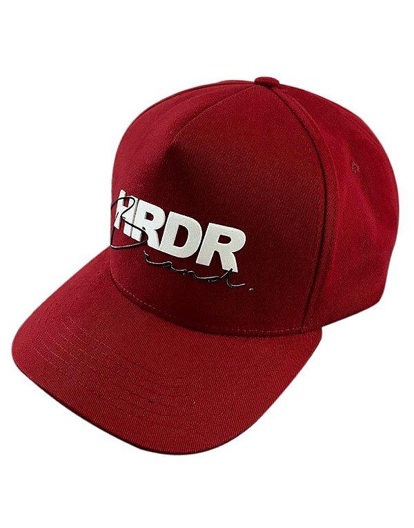 Boné Trucker HRDR Vermelho