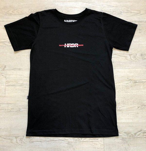 Camiseta Faith - Preta Harder