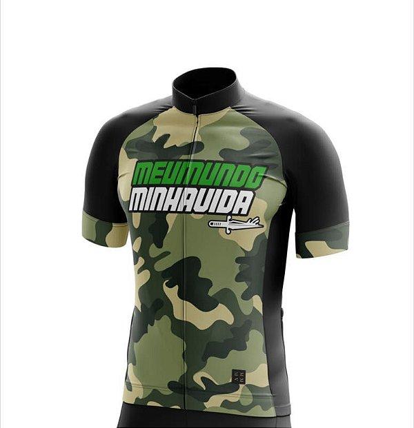 Camisa Bike MMMV - Camuflada