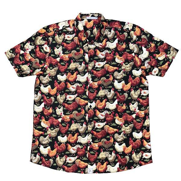 Camisa Galo Preto kamizahia