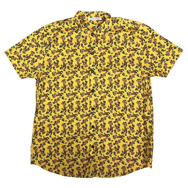 Camisa KAMIZAHIA Yellow Flowered FEMININA